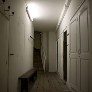 Corridor Blanc Om